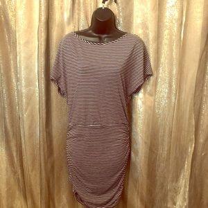 Victoria's Secret Knit Stripe Dress